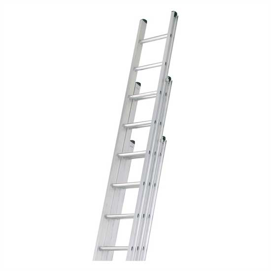 tripple extending ladder